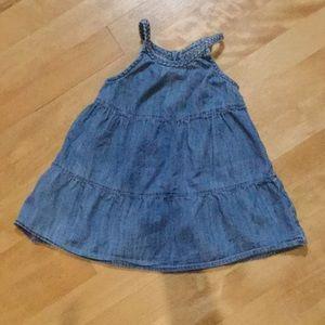 Cute baby Gap jean sundress size 18-24M